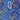 Синий с кольцами