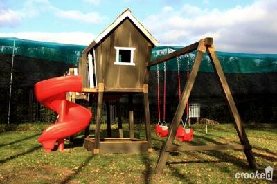 Игровой комплекс Crooked Double Junior