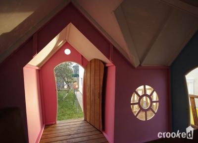 Детский игровой домик «Рокси» Crooked