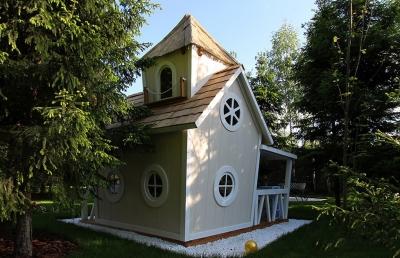 Двухэтажный домик «Принцессы» Crooked