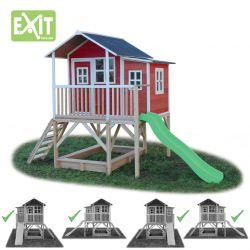 Игровой дом Exit Toys с горкой 550