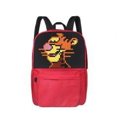 Классический школьный пиксельный рюкзак Classic school pixel backpack WY-A013