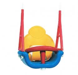 Детское сиденье PlayGarden пластиковое со спинкой (3 в 1)