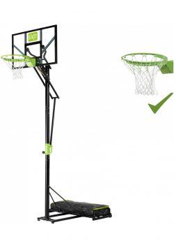 Баскетбольная стойка Exit Toys Звезда 230-305 см мобильная