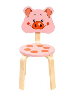 Эргономичный стул для школьника Мордочка Поросёнок