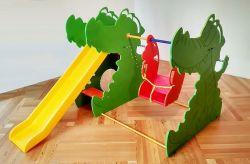 Горка-качели Лимпопо (Для домашнего использования)