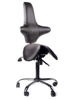 Кресло-седло со спинкой Gravitonus EZSolo Back