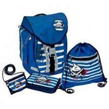 Школьный рюкзак Spiegelburg Capt'n Sharky Flex Style с наполнением