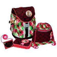 Школьный рюкзак Spiegelburg Pferdefreunde Flex Style с наполнением
