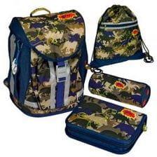 Школьный рюкзак Spiegelburg T-Rex Flex Style с наполнением