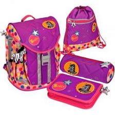 Школьный рюкзак Spiegelburg Bunte Punkte Flex Style с наполнением