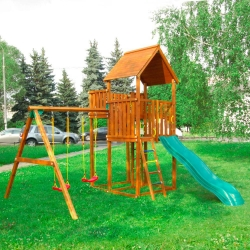 Детский городок Jungle Palace + Swing X'tra