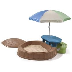 Песочница Step 2 Со столиком с крышкой