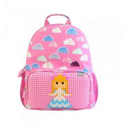Детский рюкзак Upixel Floating Puff WY-A025 Розовый с рисунком