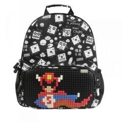 Детский рюкзак Upixel Floating Puff WY-A025 Черный с рисунком