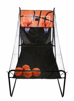 Баскетбольная электронная стойка с двумя кольцами Kampfer