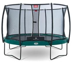 Батут Berg Elite+ 430 + Safety Net T-series D=430 см