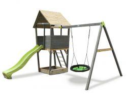 Игровой комплекс Exit Toys Акцент с кaчелями-гнездо