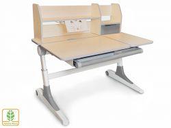 Письменный стол для школьника Mealux Ontario с ящиками и полками