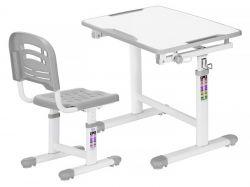 Письменный стол для школьника Mealux EVO-07 с ящиками и полками