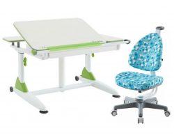 Комплект TCT Nanotec Парта G6+XS с креслом Ergo-BABO и прозрачной накладкой на парту 65х45