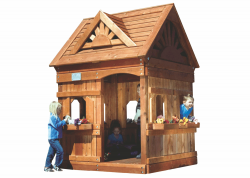 Игровой домик Rainbow Дизайн 1 (Playhouse Design 1)