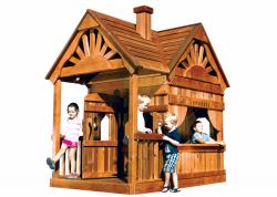 Игровой домик Rainbow Дизайн 2 (Playhouse Design 2)
