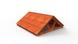 Крыша деревянная к ДИП Самсон