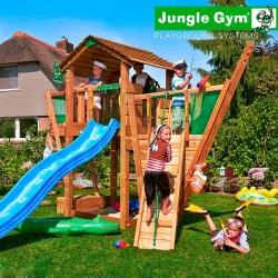 Детский городок Jungle Cottage + Boat Module