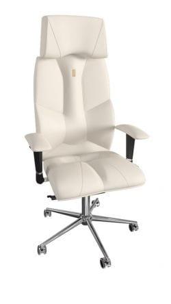 Кресло бизнесмена Kulik Business (перфорация, 3D подголовник)