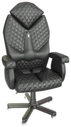 Статусное кресло Kulik Diamond (индивидуальная прошивка Design, 3D подголовник)