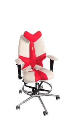 Детское кресло Kulik Fly (отделка Duo Color, опора для ног Ring Base)