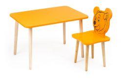 Комплект детской мебели Polli Tolli Джери с оранжевым столиком