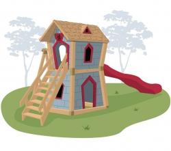 Игровой комплекс для детей Crooked Junior Castle