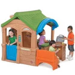 Детский игровой домик Step 2 С грилем