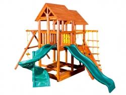 Игровая площадка PlayGarden SkyFort Spiral со спиральной горкой