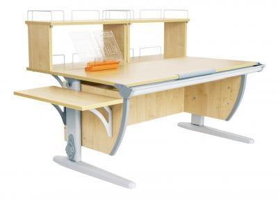 Парта ДЭМИ (Деми) СУТ 15-02Д2 (парта 120 см+две двухъярусные задние приставки+боковая приставка)